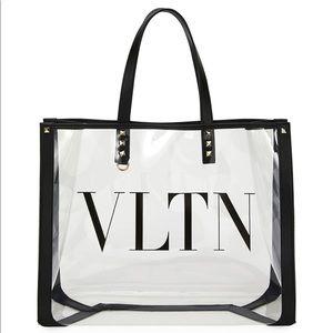 Valentino polymeric tote bag